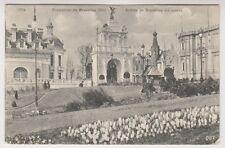 Bruxelles Exhibition 1910 postcard - Entree de Bruxelles Kermesse - P/U 1910