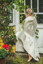 Baby Blanket Quilt Swaddle Girl Boy Cozy Plaid Soft Warm Elk Wool 90x130cm Beige