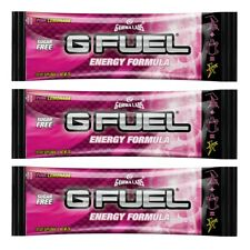 G Fuel Energy Formula Pink Lemonade Single Serving Packet Gfuel Gamma Labs