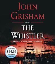 John Grisham WHISTLER Unabridged CD *NEW* FAST Ship!