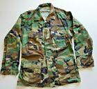 USAF MSgt Woodland Camo BDU Shirt MED LONG 8415-01-084-1648