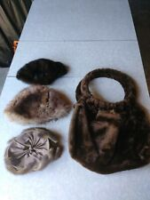 New listing Saks Fifth Avenue Coe Fur hat Lot and Fur Purse