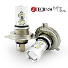 Jtech H4 9003 HB2 60W SMD Car LED Fog/DRL Bulb Xenon White Pair