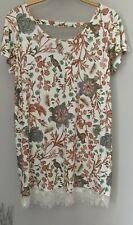 Next Womens T Shirt Dress 14 Bird design short sleeved