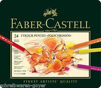24-er Farbstifte Faber-Castell Polychromos 110024 feinste Künstlerfarbstifte
