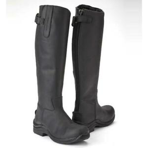New Toggi Calgary Long Riding Boots - Black - RRP £130.00