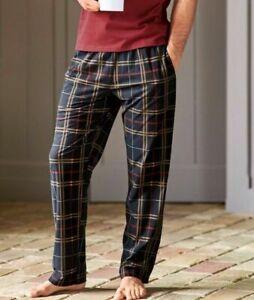 New Men's Boys Designer Woven Pyjamas Bottoms Lounge Wear Pants Night Trousers