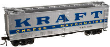 Kraft Cheese & Mayonnaise 40' Wood Reefer By Atlas Master Line -Ready To Run !