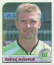 N°483 ANDRZEJ JUSKOWIAK # POLAND VfL.WOLFSBURG STICKER PANINI BUNDESLIGA 2002