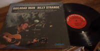 """Billy Strange """"Railroad Man"""" LP SONGS AND SOUNDS OF THE RAILROAD 12-STRING"""
