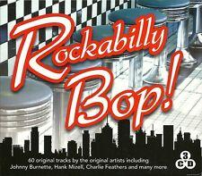 ROCKABILLY BOP! - 3 CD BOX SET - JOHNNY BURNETTE, HANK MIZELL & MORE