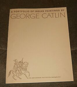 6 Different George Catlin Portfolio of Indian Paintings Prints Smithsonian