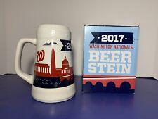 MLB Washington Nats 2017 Beer Stein by Budweiser