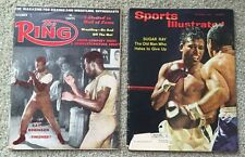 2 Vintage Boxing Magazine The Ring 1961 Sugar Ray Sports Illustrated 1965