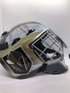 Marc-Andre Fleury Vegas Golden Knights Autographed Goalie Mask Fanatics COA