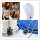 Charm Fashion Jewelry Crystal Choker Chunky Statement Bib Pendant Chain Necklace