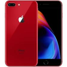 Apple iPhone 8 Plus 64GB Red Unlocked Grade A- Retail Box Cosmetic mark on back