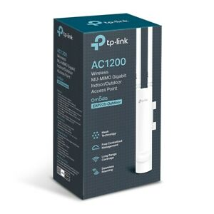TP-Link EAP225-Outdoor AC1200 WiFi Gigabit Indoor/Outdoor Wireless Access Point