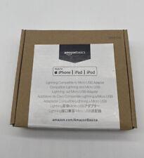 AmazonBasics Micro USB to Lightning Adapter - Black