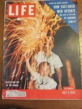 Life Magazine Dazzle and Din of the Fourth July 1955