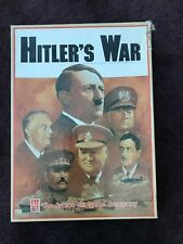 1984 Avalon Hill HITLER'S WAR 3 Game Bookcase Set WWII World War 2