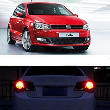 2 Pz Xenon Bianco LED luce di coda lampadine senza errori per VW Polo 09-14 6R