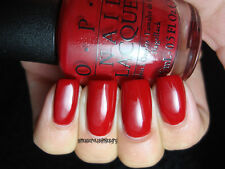 NEW! OPI Nail Polish Vernis AMORE AT THE GRAND CANAL ~ Venice Collection Red