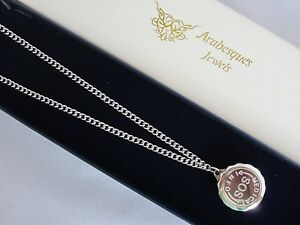 QUALITY STAINLESS STEEL SOS NECKLACE/PENDANT MEDICAL INFORMATION/TALISMAN/SILVER
