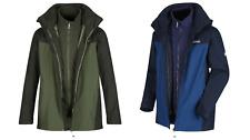 RMP279 Regatta Mens Waterproof Telmar III 3 in1 Jacket MRP £100.00