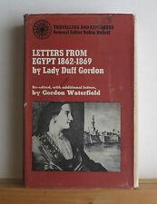 Letters from Egypt 1862-1869 Lady Duff Gordon 1969 Travel Middle East Politics