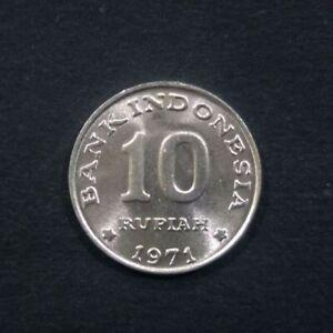1971 Coin Indonesia - Indonesia 10 rupiah, 1971