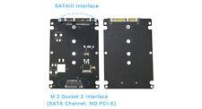 "M.2 SSD (B+M) auf 2.5"" SATA III SSD Adapter Gehäuse #215"