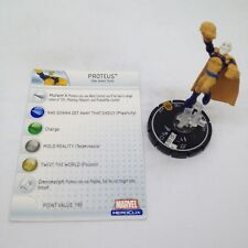 Heroclix Mutations and Monsters set Proteus #103 Limited Edition figure w/card!