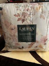 NWT! Ralph Lauren Full/ Queen Comforter Set! Gorgeous!