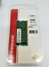 Transcend 2GB DDR2 800MHz SO-DIMM Laptop Ram New Sealed Retail Package