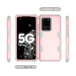 For Samsung S20 Ultra S10e Plus Note 9 8 Heavy Duty Rubber Hard Phone Case Cover