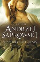 Season of Storms by Sapkowski, Andrzej, NEW Book, FREE & FAST Delivery, (Paperba