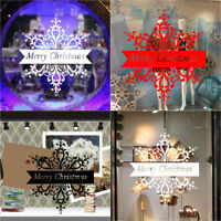 Merry Christmas Removable Wall Stickers Art Vinyl Decal Mural Home Decoration