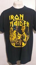 Iron Maiden women in uniform T shirt heavy metal judas priest motorhead saxon