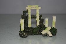 Aquarium Detailed Ancient Column Arch Ruin Decoration 9.5 x 4 x 7 cms
