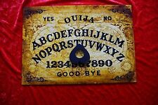 Wooden Ouija Board game Twin World Seance & Planchette spirit ghost pagan LARGE