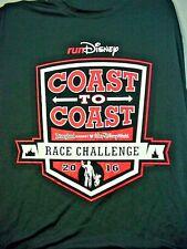 2016 Disneyland Resort WDW COAST TO COAST T-Shirt - Adult Large - NEW