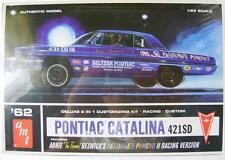 2009 discontinued AMT 623 1962 Pontiac Catalina 2-in-1 new in the box model kit