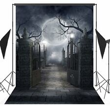 5X7FT Halloween thin Vinyl Backdrop Photography Background Studio Props WD72