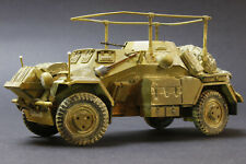 1/35 scale Built and Painted Afrika Korps SdKfz 223 Made for display