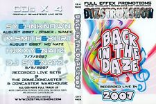 DIZSTRUXSHON-RETROSPEKT-DONACSTER WAREHOUSE-BYO-HARDCORE-OLDSKOOL-CD PACK*