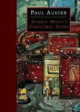 Auggie Wren's Christmas Story Hardcover book by Paul Auster FREE SHIPPING