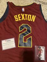 Collin Sexton Autograph jersey With Panini Impeccable Card /75