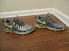 Used Worn Size 11 Nike Fingertrap Max Shoes Silver, Gray, Volt