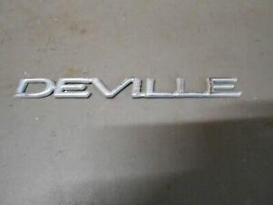 00-05 Cadillac Deville Trunk Lid DEVILLE Emblem - Badge - Nameplate - Decal